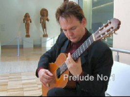 Peter Inglis playing guitar at the Art Gallery of NSW