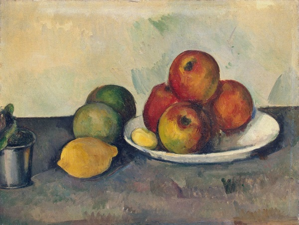 Cezanne, Still Life with Apples, 1890