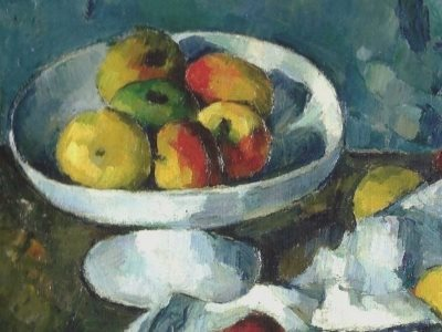 Cezanne: Still life with Fruit Dish, 1880