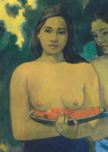 Gauguin, Two Tahitian Women, 1899 (excerpt)