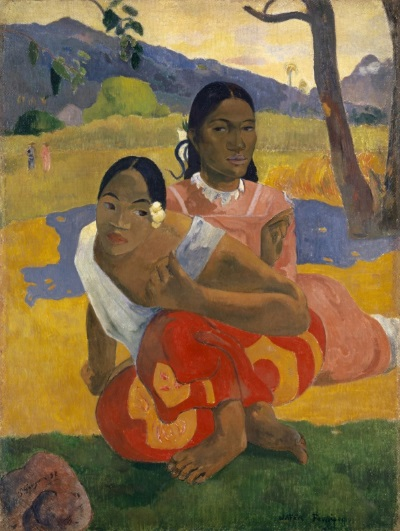 Gauguin, ' When will you Marry? (1899).'