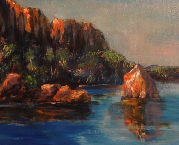 Ord River, painted by Peter Inglis