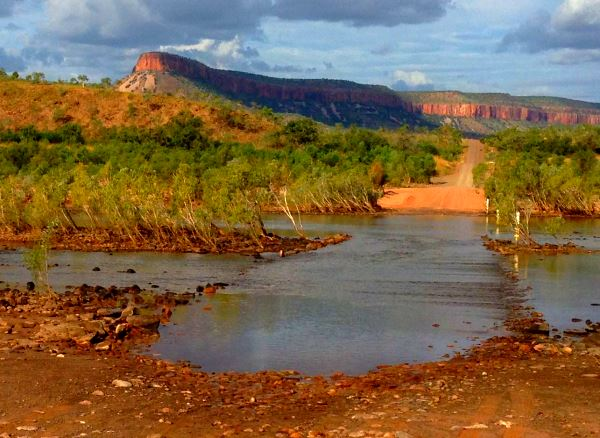 Pentecost River Crossing in the Kimberley region - image © 2014 Peter Inglis