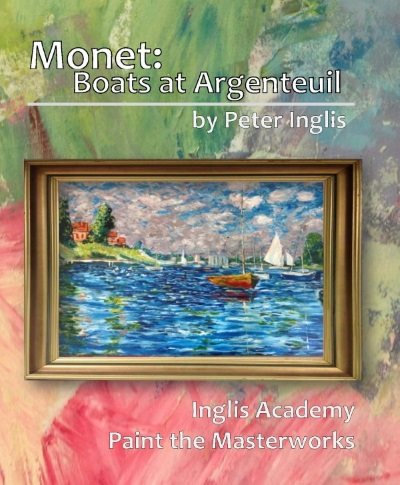 Monet: Boats at Argenteuil.