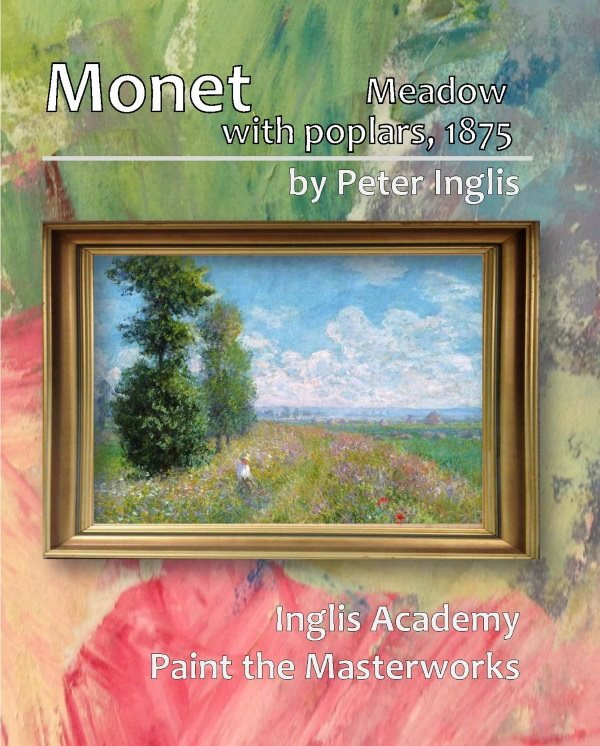 Monet: Meadow with Poplars, 1875 - a syllabus book from Inglis Academy