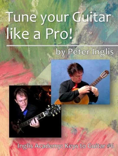 Tune your Guitar like a Pro! - a free ebook.