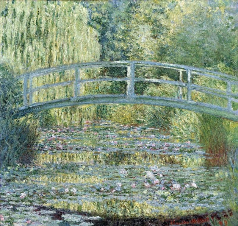 Monet's 'Japanese Bridge No.2, 1899 - Learn to paint this Monet in our masterclass.