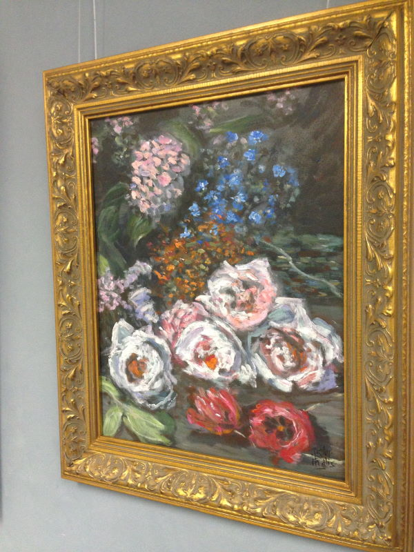 Monet: Spring Flowers, 1864 (excerpt) | Paint this in our 'Gallery Quality Painting' sessions | www.inglisacademy.com