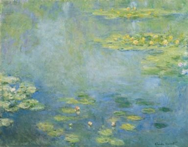 Monet: Waterlilies, 1906, No.1