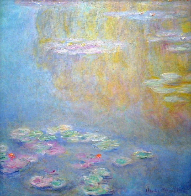 Monet: Water Lilies, 1908 No.3 \\o// Paint this at Inglis Academy - www.inglisacademy.com.
