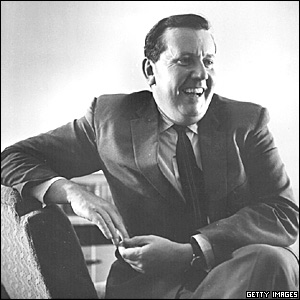 Malcolm Arnold, the ground breaking British composer.