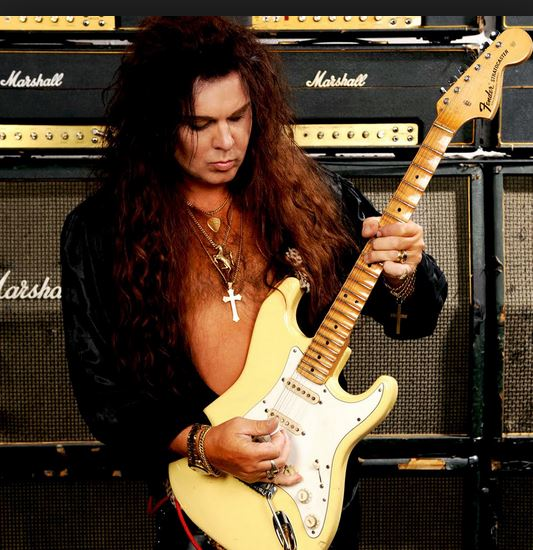 Yngwie Malmsteem hit the guitar scene in the early 1980's and brought the Baroque back into Rock.