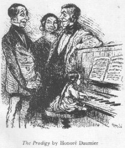 The Prodigy, by Honore Daumier