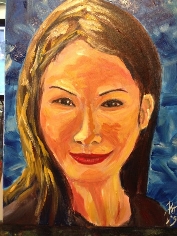 Paint your self portrait in this session at Inglis Academy