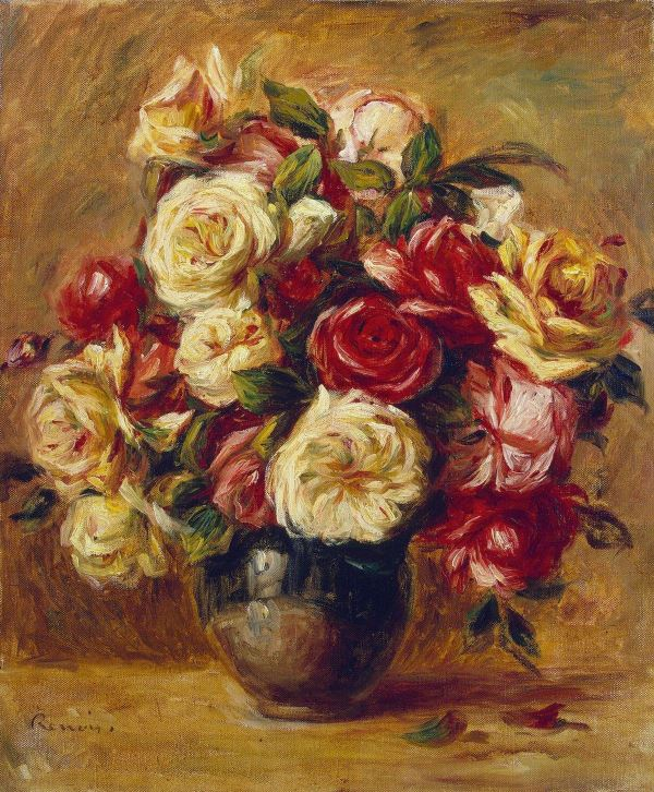 Renoir: Bouquet of Roses, 1909