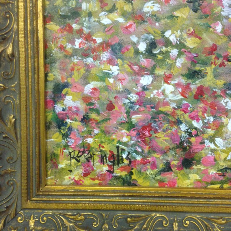 Renoir: Garden, 1875 | Painting by Peter Inglis | Learn this painting at Inglis Academy - www.inglisacademy.com