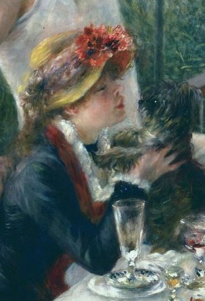 Renoir: Luncheon of the Boating Party, 1881 (excerpt)