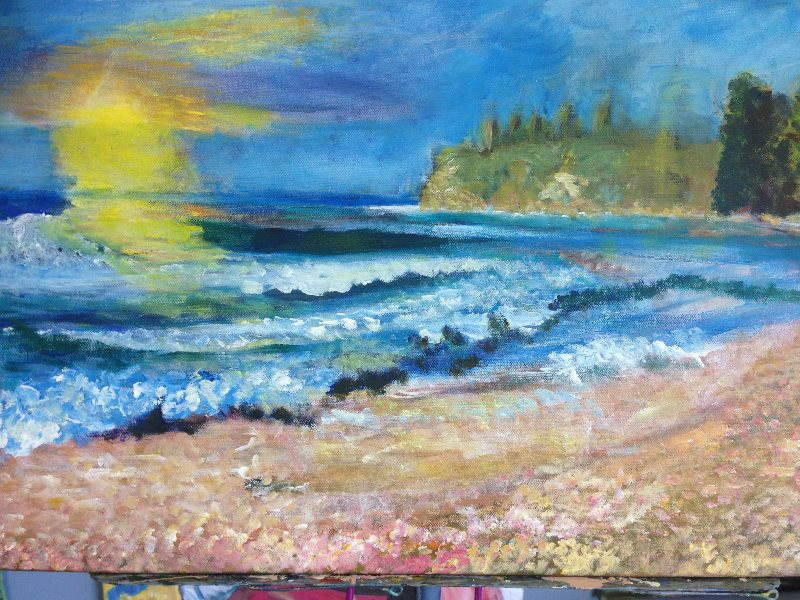 Collaroy Beach by Maria Imelda Argel.