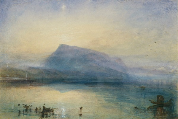 Turner - 'Blue Rigi, sunrise' 1842