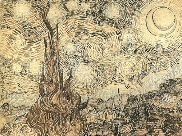 Starry Night by Van Gogh