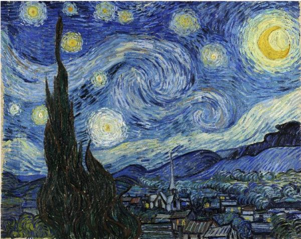 Van Gogh: Starry Night (Your intro to the Inglis Art Method)