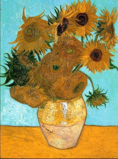 Van Gogh's 'Sunflowers' version 3.
